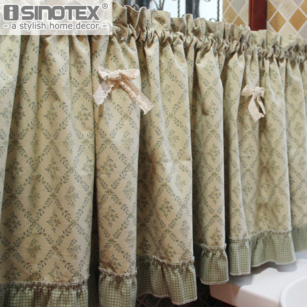 New Kitchen Curtains For Less: American Kitchen Curtain Fashion Cafe Butterfly Cotton