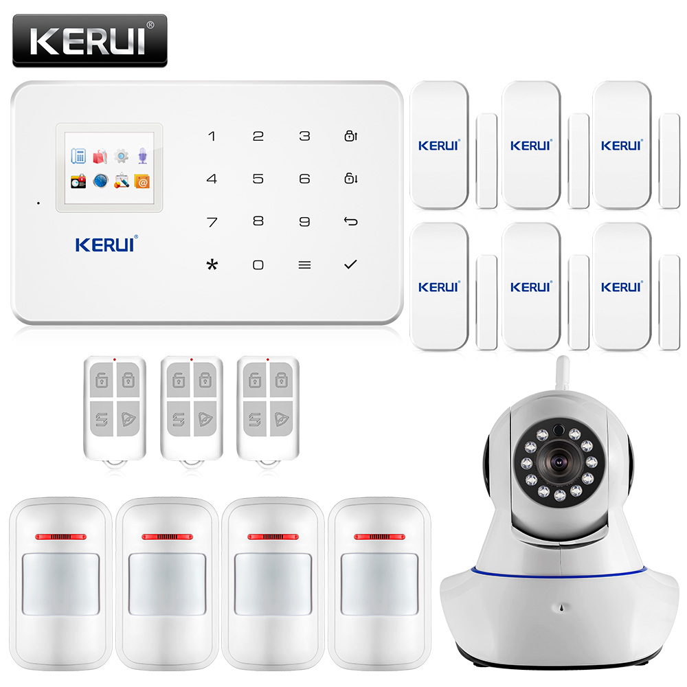 Aliexpress Com   Buy Free Shipping Wireless Sms Home Gsm Alarm System House Intelligent Burglar
