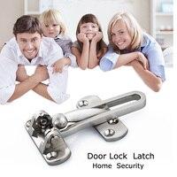 Door Buckle Lock Door Guard Security Buckle Chain Door Hinges DIY Bolt Safe Locks Cabinet Latches
