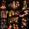 4M 30pcs Bulb Ball Christmas Lights Luminarias Home Decoration Garland Led String Lights Christmas Outdoor Decoration