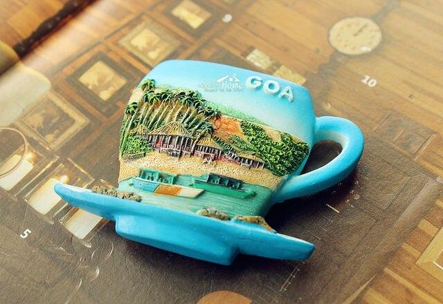 магнит на холодильник вышивкк крестиком чашка кофе