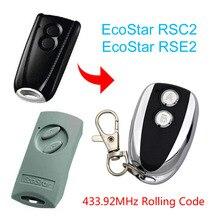 Hormann transmisor de mano EcoStar RSE2 RSC2 433Mhz, mando a distancia, 433Mhz, código rodante, Ecostar RSC2 RSE2, control remoto 433