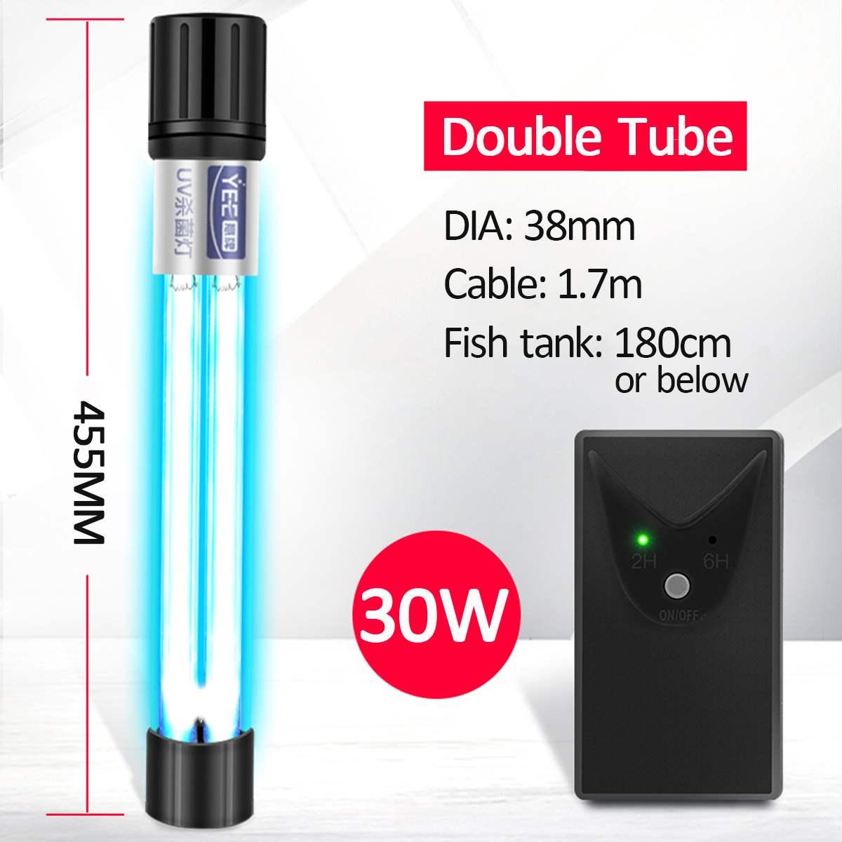 tubo duplo uv lâmpada germicida tipo de