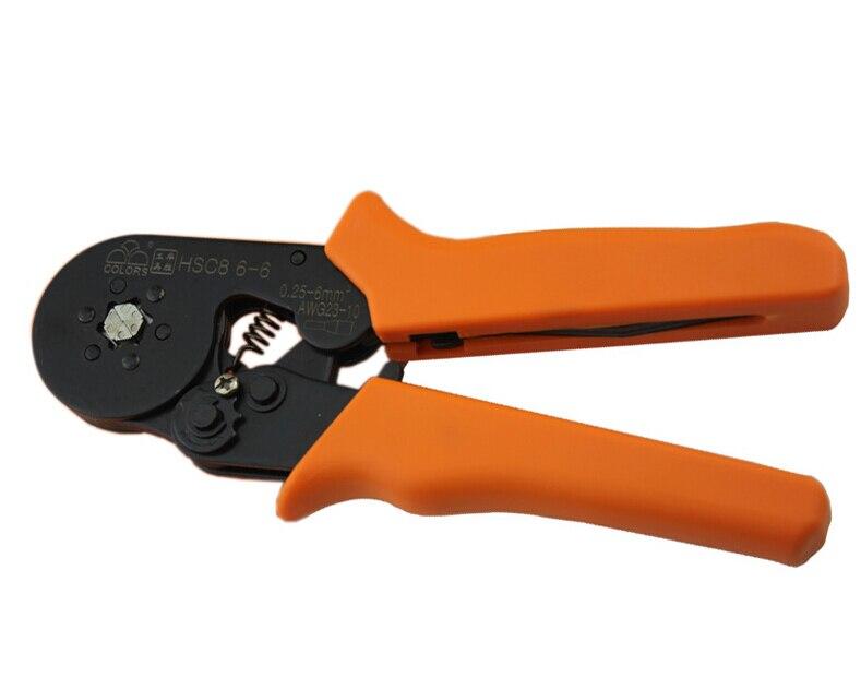 Handwerkzeuge Frank Hsc8 6-6 Selbst Einstellbare Quetschverbindenzange 0,25-6mm2 Terminals Crimp-werkzeuge Multitool Werkzeuge Händen Zange Starker Widerstand Gegen Hitze Und Starkes Tragen Werkzeuge