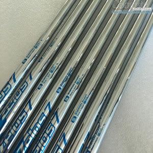Image 4 - Cooyute Nuovo mens Golf club shaft NS PRO ZELOS 7 Da Golf in Acciaio del pozzo R o S flex in scelta 8 pz/lotto ferri Da Golf albero di trasporto libero