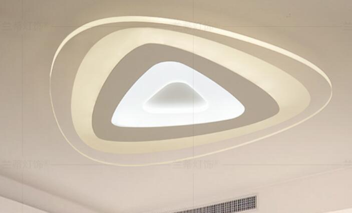 Modern LED ceiling lights main bedroom lamp living room simple modern flower hone decorations lamps ceiling lamps ZA