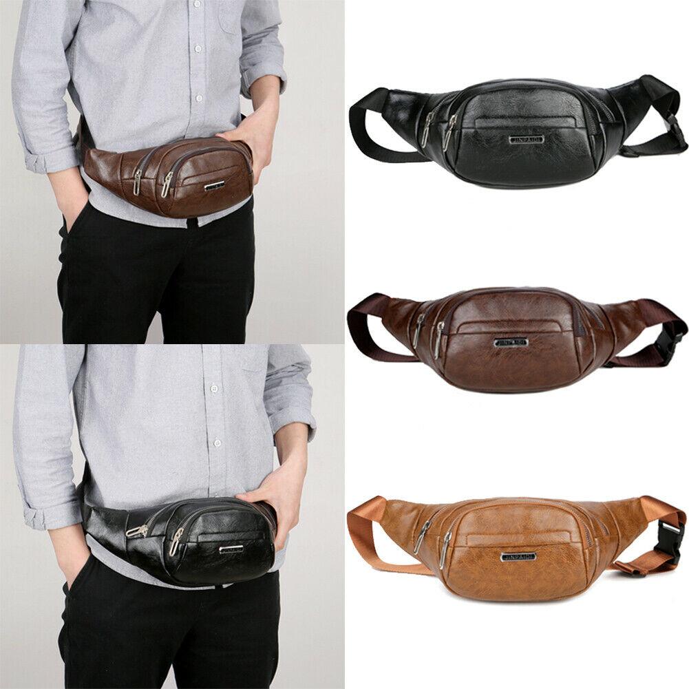 Unisex Waist Bag Mens Fanny Pack Fashion Camping Waist Pouch Sport Shoulder Bag