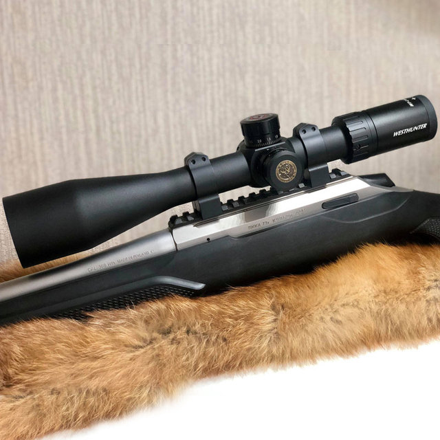 Shockproof Military Rifle Scopes WESTHUNTER WT-L 4-20X50 Air Gun Optics Riflescope Hunting Tactical