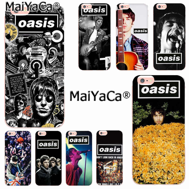 MaiYaCa Oasis Band Liam Noel Galagher Luxury Fashion Phone Case for Apple iphone 11 pro 8 7 66S Plus X 5S SE XR XS XS MAX Cover