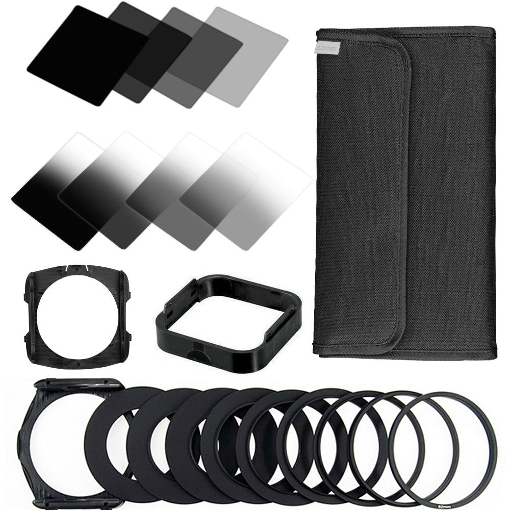 ZOMEI 22 in1 Gradienten Neutral Density Schrittweise ND Filter Kit für Cokin P Serie Set für Dslr-kamera-objektiv