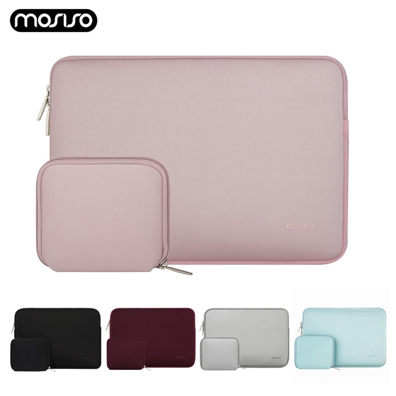 MOSISO <font><b>Laptop</b></font> <font><b>Sleeve</b></font> for Macbook Dell HP Asus Acer Lenovo 11 12 13.3 <font><b>14</b></font> 15 <font><b>inch</b></font> <font><b>Laptop</b></font> Bag Case for Mac Pro 13 15 Notebook Bags image