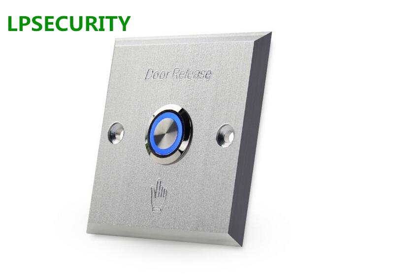 Security & Protection Access Control Kits Lpsecurity Door Button With Keys Metal Exit Switch Button Door Release For Gate Opener Electric Lock Access Control System 100% High Quality Materials