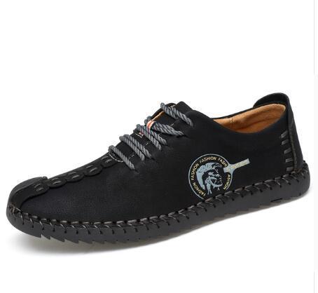 Comfortable Men Flat Shoes (3 Colors)