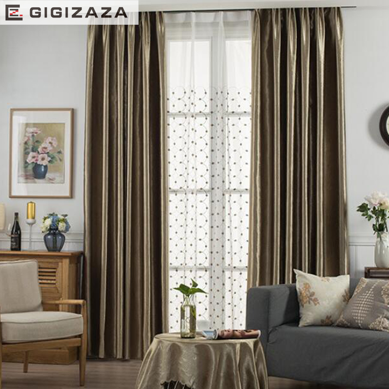 3D Embossed Gold Color High Black Out 3 Pass Modern Curtains For Living  Room Divider Blue