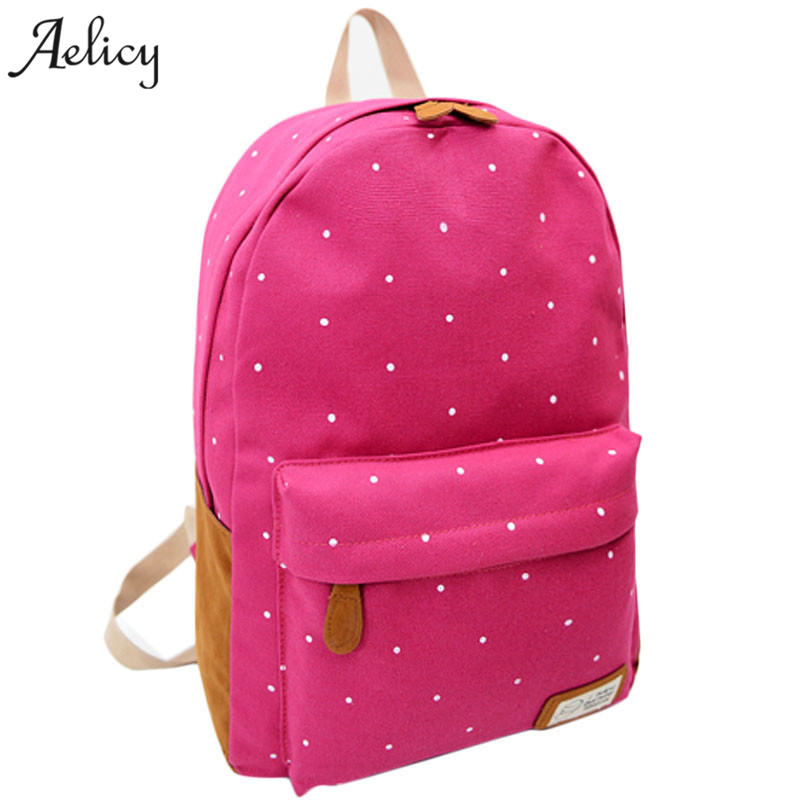 Aelicy Printing Women School Bag Backpack For Teenage Girls Backpacks Female Canvas Children Schoolbag Rucksacks for GirlsAelicy Printing Women School Bag Backpack For Teenage Girls Backpacks Female Canvas Children Schoolbag Rucksacks for Girls