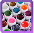 24PCS Colorful Nail Art UV Gel Professional Glitter Powder Nail Gel Nail Polish Nail UV gel set