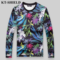 Hot Sale Fashion Brand T Shirt Men Designer Printed T-shirt Men Tops Tee Shirt Long Sleeve Plus size M-5XL Male T-shirt Harajuku