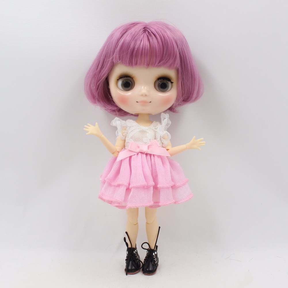Middie Blythe Doll with Purple Hair, Tilting-Head & Jointed Body 3