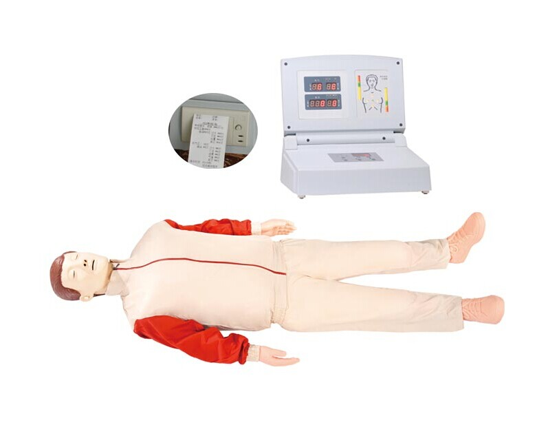 Купить с кэшбэком BIX-CPR480 Advanced Automatic Computer Cardiopulmonary Resuscitation CPR Training Manikin