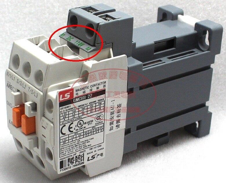 Original authentic South Korea LG LS power generation (Wuxi) MEC DC contactor GMD-22 DC110V 22AOriginal authentic South Korea LG LS power generation (Wuxi) MEC DC contactor GMD-22 DC110V 22A