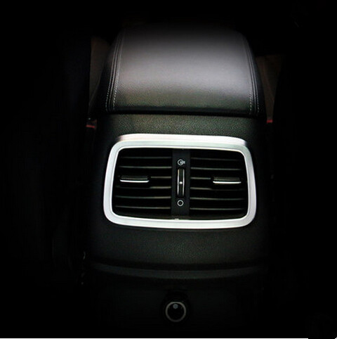 EAZYZKING Car styling Auto font b inerior b font accessories rear air vent intake trim sticker