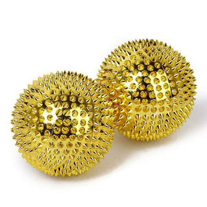 Image 3 - 2PCS Magnetic Stimulation Needle Massage Ring Acupuncture Ball Health Care Massager Finger Massage Ball Relief Massager