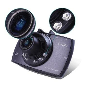 מקורי Podofo A2 רכב DVR מצלמה G30 מלא HD 1080 p 140 תואר Dashcam וידאו רשמים עבור מכוניות ראיית לילה G -חיישן מצלמת מקף 1