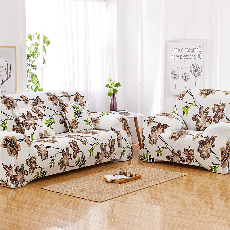 ROMORUS Floral Sofa Covers Tight All-inclusive Universal Stretch - Home Textile - Photo 3