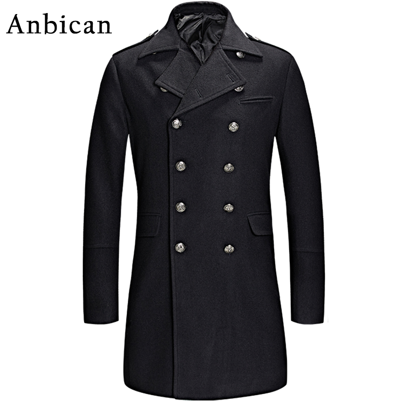 Online Get Cheap Men Black Pea Coat -Aliexpress.com | Alibaba Group