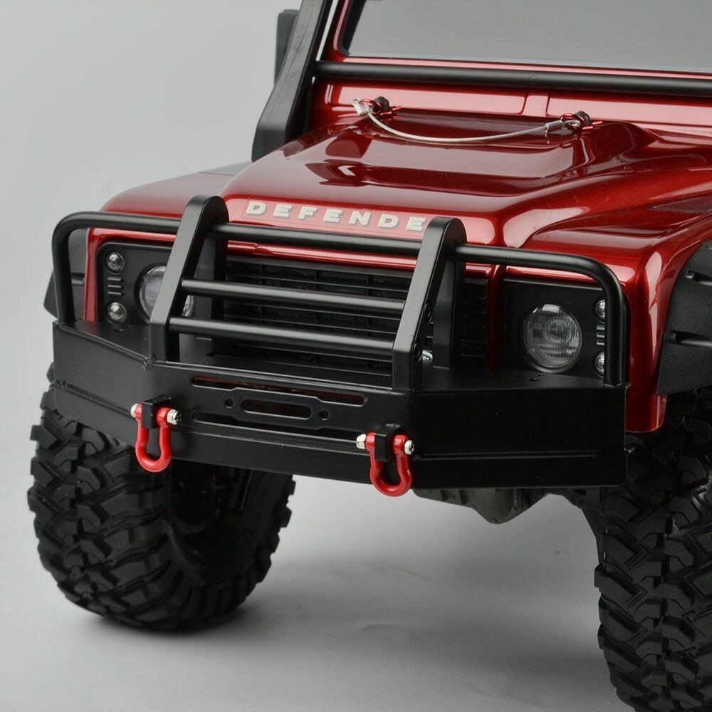 KYX 1//10 RC Car Metal Front Bumper for Traxxas TRX-4 Defender Bronco