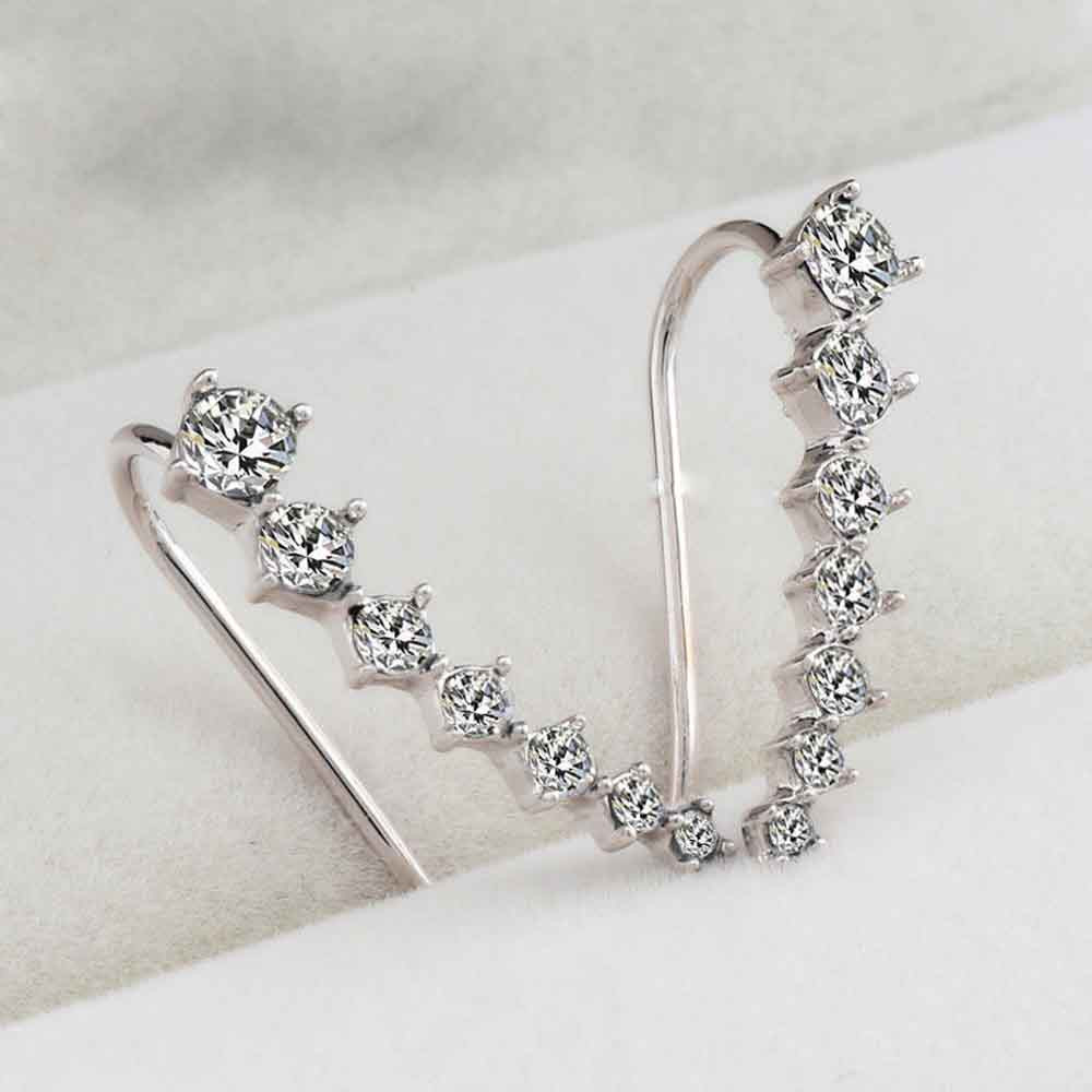 Stylish-Jewelry-100-new-Earings-1Pair-Rhinestone-Crystal-Earrings-Ear-Hook-Stud-Jewelry-Charm-Stud-Earrings