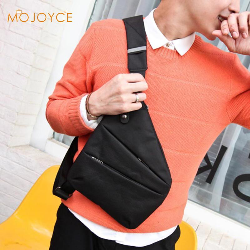 Male Anti-Theft Shoulder Chest Bags Casual Man Sling Canvas Chest Bag Multifunctional Cool Leisure Small Fashion Chest Packs New
