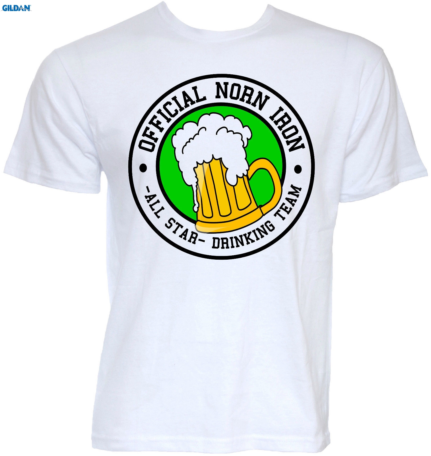 GILDAN MENS FUNNY COOL NOVELTY NORTHERN IRELAND ULSTER IRISH BEER T-SHIRTS GIFTS IDEAS Fashion T Shirts Straight 100% Cotton