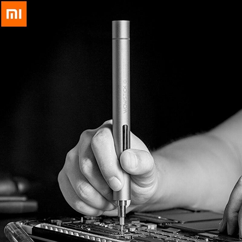 Xiaomi Wowstick 1F + 64 en 1 vis électrique ordinateur réparation alimentation LED tournevis kit Lithium électronique Charge tournevis