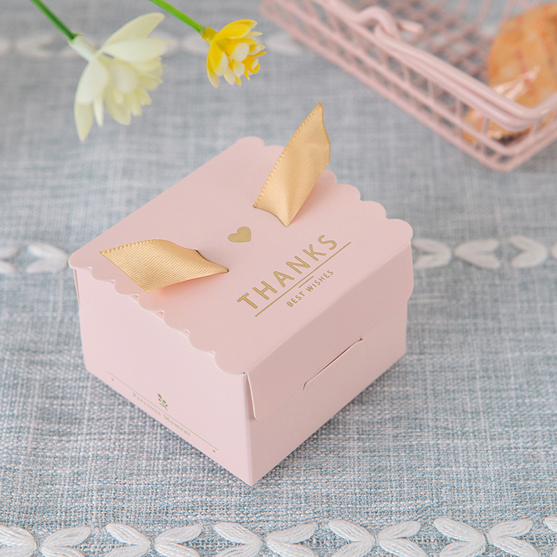 10Pcs Creativity Square Candy Boxes wedding Supplies candy boxs Party Favors Wedding Gifts Birthday Party Candy Box Favors