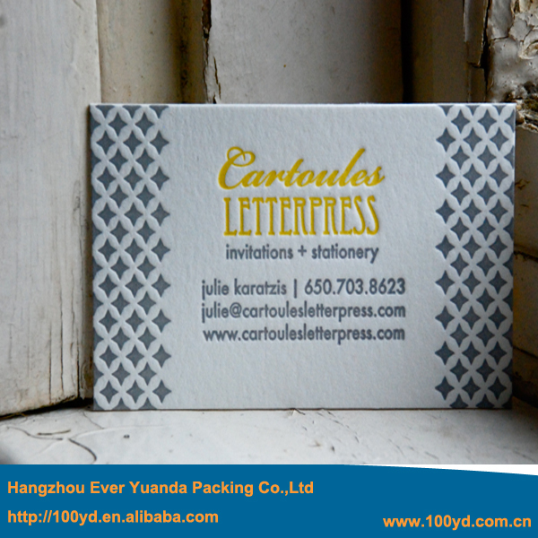 Haute Qualit Offset Impression De Cartes Visite Typographie Personnalise En Creux Haut Gamme Pais 600gsm Art Papier Nom La Carte 90