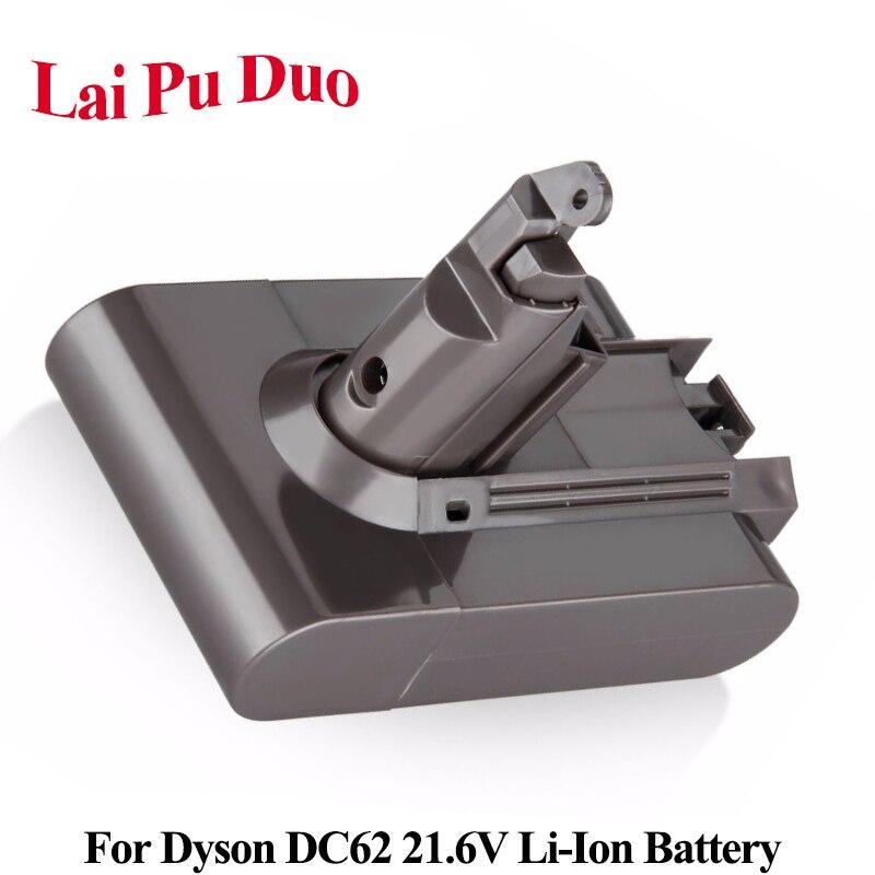 Pour Dyson V6 21.6V 3000mAh Li-ion Batterie Pour DC62 DC61 DC58 DC59 DC74 SV03 SV04 SV07 SV09 965874-02 Aspirateur Batterie