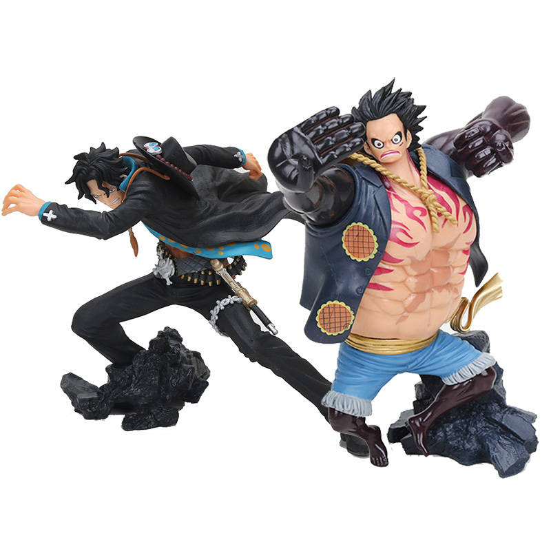 Us 12 42 20 Off One Piece Monkey D Luffy Action Figure 1 8 Scale Painted Figure King Of Artist Ace Doll Pvc Acgn Figure Toy Brinquedos In Action