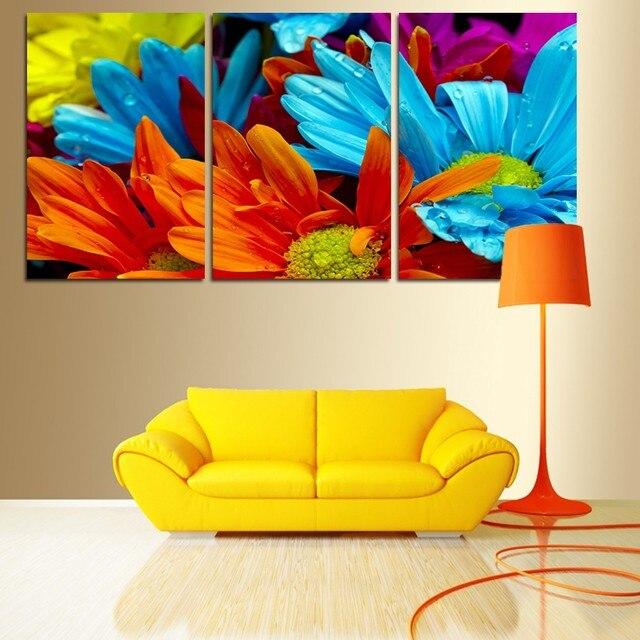 Aliexpress.com : Buy 3Pcs Unframed Modern Wall Painting Home Decor ...