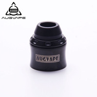 Augvape Merlin Mini RDA Top Cap Kit RTA Turned To RDA Metal Top Cap For Merlin