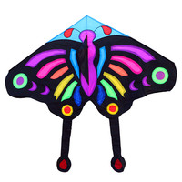 free shipping high quality large kite3M huge butterfly kite with handle and line ferramentas fly eagles bicycle hand wheel