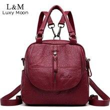 Wielofunkcyjny plecak damski plecak żeński mały plecak Mochila Feminina plecaki dla nastolatek dziewczyny torby Sac A Dos XA270H