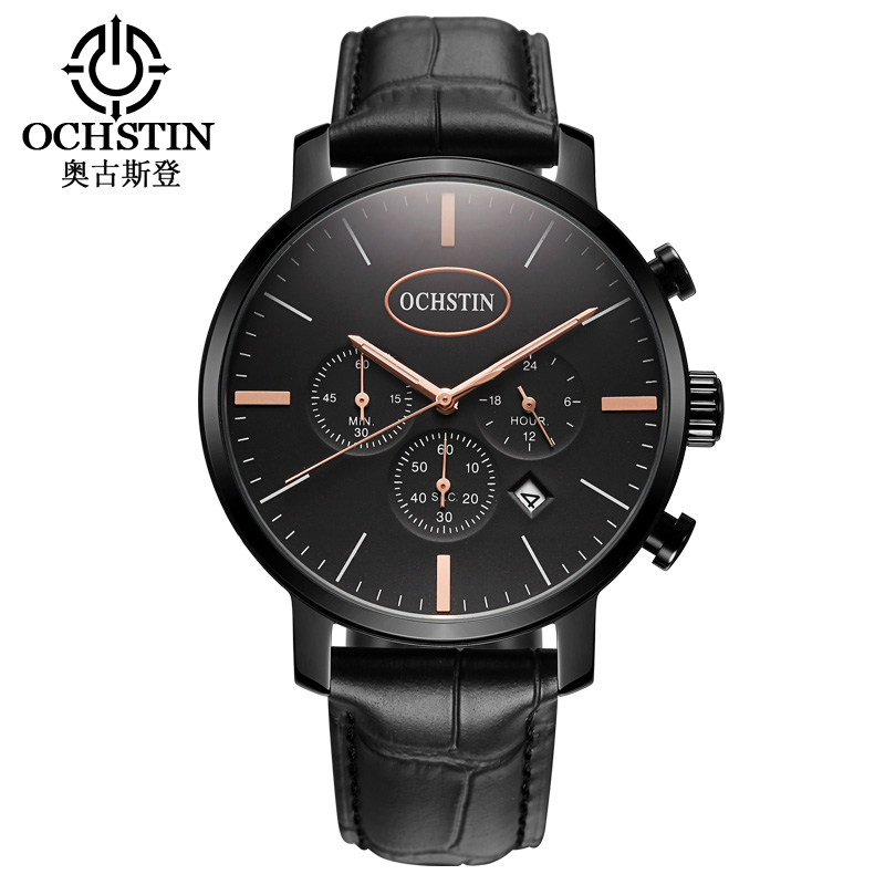 цены  OCHSTIN Outdoor Working Sub-dial 3ATM Men Quartz Watch Men's Sports Waterproof Mens Wrist Watch Male Clock 2017 Time Watch
