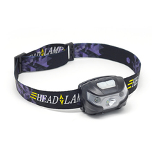Rechargeable Head Lamp Waterproof Multi Angle Adjustable Strong USB 4 Levels Xtra Brghtness Light