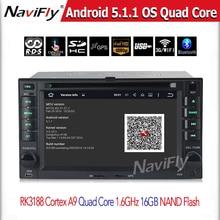 2din in-dash Android 5.1 KIA Cerato Sportage Ceed Sorento Rio Car DVD GPS Navigation Autoradio Stereo Automotivo System