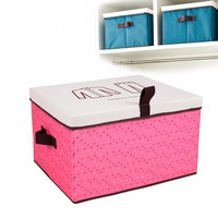 Rectangle Large Capacity Oxford Cloth Folding Storage Box Organizer For Closet Organizer Waterproof Toy Clothing Containers