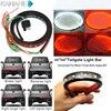 Flexible 49 60 Inch Red White Tailgate LED Strip Light Bar Reverse Brake Turn Signal Light