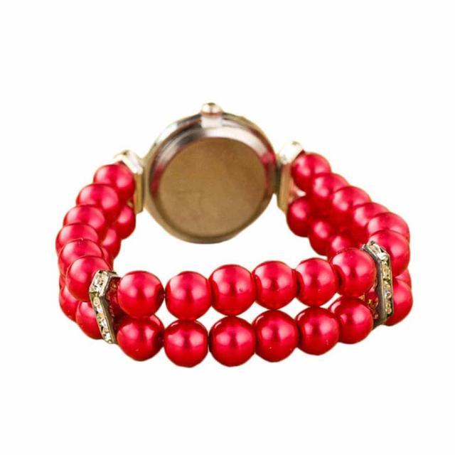 Moment # L05 wrist watches for women small New Golden Pearl Quartz Bracelet Watc