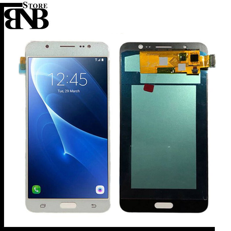 Super Amoled Per Samsung Galaxy J7108 J7109 J7 2016 Display LCD + Touch Screen Digitizer Assembly Rimontaggio di trasporto liberoSuper Amoled Per Samsung Galaxy J7108 J7109 J7 2016 Display LCD + Touch Screen Digitizer Assembly Rimontaggio di trasporto libero
