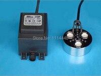 Brand New Ultrasonic Mist Maker Fogger 3 Head Humidifier Transformer 900ml H With Color Light
